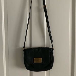Marc By Marc Jacobs Black Leather Mini Crossbody